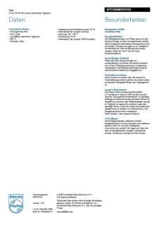 Philips Genie Stab E27 Energiesparlampe 14 Watt Leistung Licht