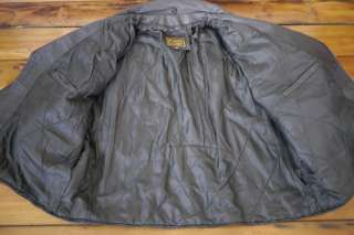 Heavy Duty BIKER Thick LEATHER Quilt Lined MOTORCYCLE Mens JACKET 3XL