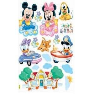 HL5901 Mickey Mouse & Minnie Mouse Dekor fürs Kinderzimmer Wandtattoo
