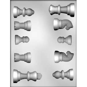 Chess Pieces Chocolate Candy Mold