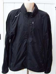 Ralph lauren mens RLX black lightweight windbreaker jacket XL $148 nwt
