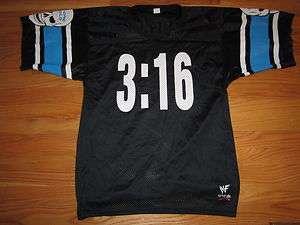 Stone Cold STEVE AUSTIN No. 316 (Size 46 MED) Football Nylon Jersey