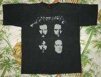 Vintage Concert SHIRT 90s TOUR T RARE ORIGINAL 1991 Dates L