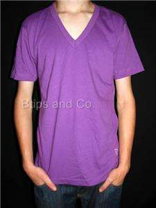 Unisex 2456ORG Cotton V Neck Tee   CHOOSE YOUR COLOR AND SIZE