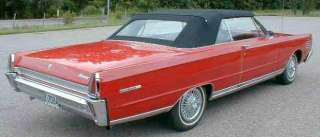 FORD GALAXIE, XL 1965 66 CONVERTIBLE TOP + REAR GLASS   WHITE