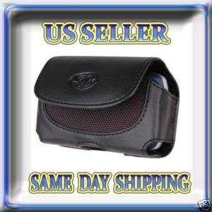 Leather Case Cover Holster For Verizon Casio Gzone Ravine 2