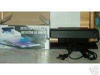 COUNTERFEIT MONEY DETECTOR WITH BULB #MD4 GENTLY USED DEMONSTRATOR