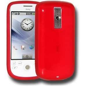 High Quality New Amzer Soft Gel Tpu Skin Case Red Extra