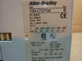 Allen Bradley Contactor 100 C72*00 , 100 C7200 #34670