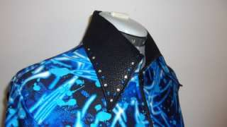 SHOW DRESSED UP   Blues Rail Pleasure Horsemanship show Shirt