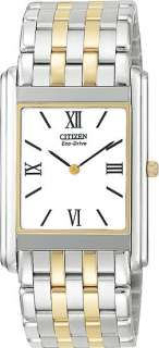 New Citizen Eco Drive Two Tone Mens Watch AR1004 51A