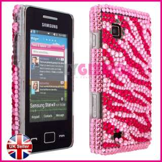 BLING DIAMOND GLITTER CRYSTAL CASE COVER FOR SAMSUNG STAR 2 II TOCCO