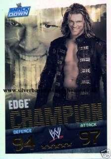 WWE Slam Attax Evolution   EDGE Champion Card |