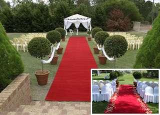 Roter Teppich Hochzeitsteppich 200 cm x 7 m Länge