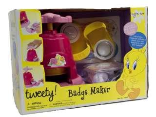 Tweety Badge Maker Machine Fun Arts And Craft Kit 4892401739537