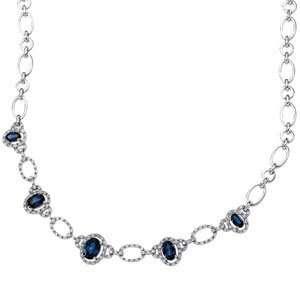 Genuine Ibiza (TM) 14K White Gold Pendant. Diamond Necklace Semi Mount