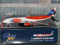 Gemini Jets My Travel Airbus A330  300 OY VKG 1/400 **Free S&H