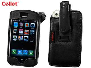 Apple iPhone Elite Leather Case with Cellet Swivel Clip   LIPHONEE