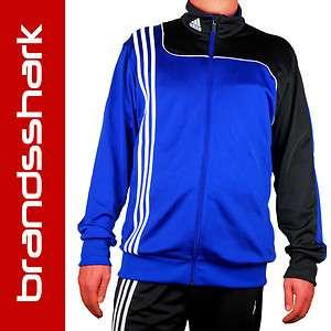 Adidas Trainingsanzug Jogginganzug Herren Gr. M, L, XL Blau Schwarz