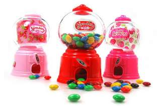 New Colour Candy Sweet Gumball Kids Toys Coin Insert Machine Game