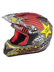 CASQUE ROCKSTAR ENERGY moto cross bmx quad XL XLARGE