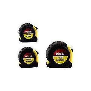 Clearance Great Neck 3023 3 Piece Tape Measure Set Home