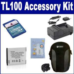 Samsung TL100 Digital Camera Accessory Kit includes