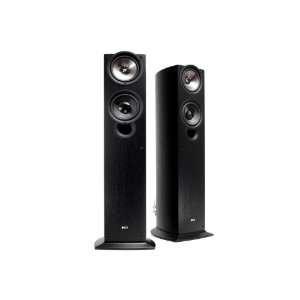 KEF iQ50BL Floor Standing Speaker (Single, Black