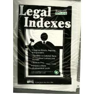 LEGAL INDEXES, KLEER FAX RECYCLED, PAGE 25 ONLY Office