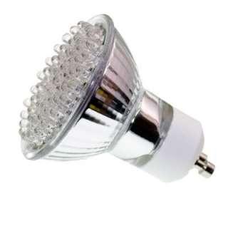 SPOT AMPOULE 60 LED LAMPE GU10 BLANC 220V