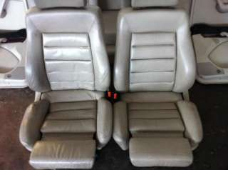 AUDI S6 C4 Lederausstattung Recaro Sitze beige S4 A6 Limo Limousine