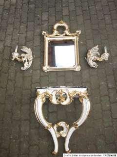 Barockkonsole um 1750 Barock Konsole Tisch Leichter Lampen Spiegel