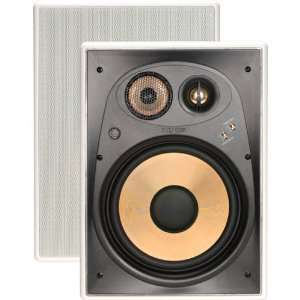 8 Three way In wall Speaker with Pivoting Dome Tweeter