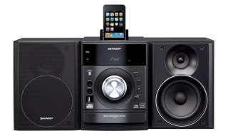 Sharp 160W Micro Shelf Stereo System w/ iPod Dock Radio CD USB