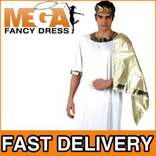 Mens Julius Caesar Roman Greek Ancient Rome Fancy Dress Adult Costume