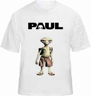 Paul the Alien T shirt Pegg Frost Rogen Movie