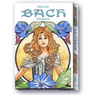 BACH FLOWERS Oracle Tarot Pack, Flower Remedies Cards & Book Box Set