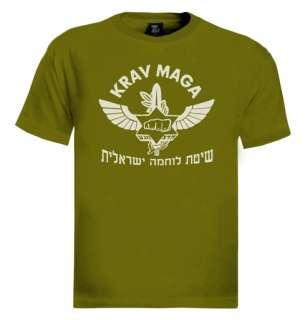 Krav Maga IDF Logo T Shirt Israeli martial arts hebrew