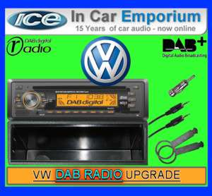 VW Lupo DAB radio stereo kit Beat 485 CD MP3 player  