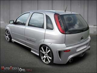 Full Body Kit VAUXHALL / OPEL CORSA C 2000 2003