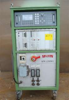 nelson stud welder power supply ntr 1200w1 230 460v 3 phase lot 601