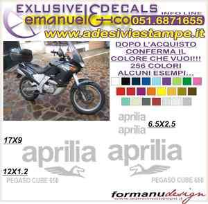 KIT ADESIVI DECAL APRILIA PEGASO 650 CUBE