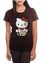 Hello Kitty Steampunk Girls T Shirt