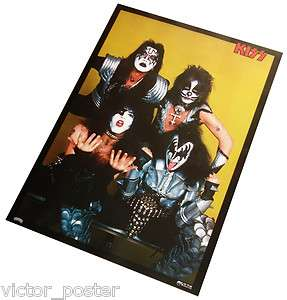 KISS VICTOR JAPAN PROMO POSTER FOR LOVE GUN 1977