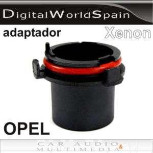 ADAPTADORES BOMBILLA XENON H7 MODELOS NUEVOS OPEL