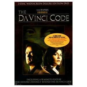 Code   3 Disc DVD: Tom Hanks, Audrey Tautou, Ron Howard: Movies & TV