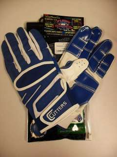 CUTTERS BASEBALL GLOVES YIN YANG ROYAL/WH SIZE SMALL