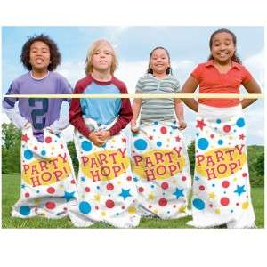 Potato Sack Race Party Kids Game 6 pack