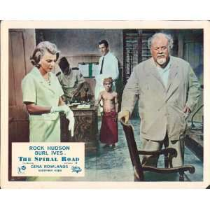 THE SPIRAL ROAD ROCK HUDSON GENA ROWLANDS LOBBY CARD: Home & Kitchen