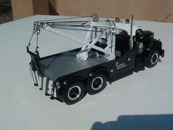 first gear LAPD MACK TANDEM WHEEL TOW TRUCK WRECKER